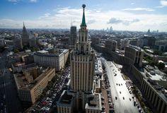 Espectaculares vistas de pájaro de las 'Siete Hermanas' de Moscú. 26/07/16