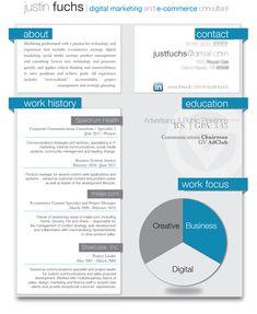Sample resume for digital marketing career. BrandNeux.com