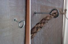 DIY Nautical Rope Towel Bar, Remodelista