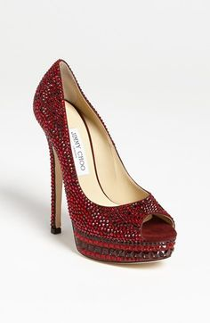 Jimmy Choo 'Kendall' Crystal Pump available at #Nordstrom