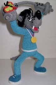 Волк от Люды Котельниковой. Обсуждение на LiveInternet - Российский Сервис Онлайн-Дневников Crochet Amigurumi Free Patterns, Crochet Doll Pattern, Cat Pattern, Diy Crochet, Knitted Dolls, Crochet Dolls, Amigurumi Toys, Cute Dolls, Crochet Animals