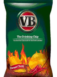 Droga5 makes spicy chips to sell VB beer.