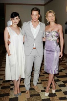Josh Dallas And Ginnifer Goodwin Wedding Once Upon A Time Stars