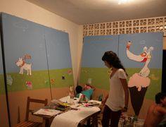 proyecto escenografia carnaval biblioteca infantil.