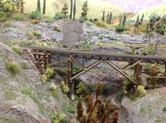 15mm paint shack: N gauge train layout