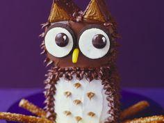 Eulen-Törtchen - der Hingucker auf jedem Kindergeburtstag | Kalorien: 754 Kcal - Zeit: 2 Std. | http://eatsmarter.de/rezepte/eulen-toertchen