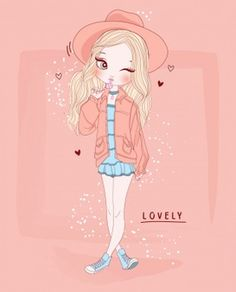 Find Hand Drawn Cute Girl Background stock images in HD and millions of other royalty-free stock photos, illustrations and vectors in the Shutterstock collection. Thousands of new, high-quality pictures added every day. Girl Background, Vector Background, Cute Girl Illustration, Anime Black Hair, Cute Girls, Little Girls, Pretty Baby, Girl Wallpaper, Princesas Disney