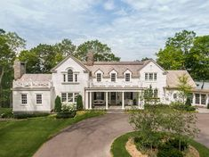 Tour a gorgeous colonial style lakeside home on Wayzata Bay, Minnesota Commercial Interior Design, Commercial Interiors, Mountain Home Exterior, Cottage Exterior, Palladian Window, Old Houses, Lake Houses, Architecture Details, Exterior Design