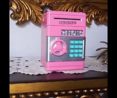 Our Piggy bank ATM will help your kid learn the Saving Habit straight from Childhood. It's one of our best selling educational toy. Discover the best baby toys for your youngsters Cool Gifts, Diy Gifts, Money Safe, Earn Money, Cool Gadgets To Buy, Thinking Day, Cool Inventions, Useful Life Hacks, Cool Things To Buy