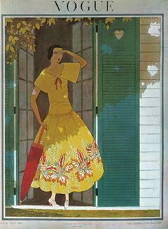 ⍌ Vintage Vogue ⍌ art and illustration for vogue magazine covers - June 1922 Vogue Magazine Covers, Fashion Magazine Cover, Fashion Cover, Magazine Art, Art Deco Illustration, Mode Vintage Illustration, Vogue Vintage, Vintage Vogue Covers, Art Deco Posters