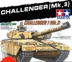 Diecast tanks British Main Battle Tank Challenger 1(Mk.3) Military Miniature Ready to Assembly plastic model kits #DiecastTanks #tank  #military