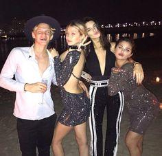 Selena Gomez / Kendall Jenner / Cody Simpson