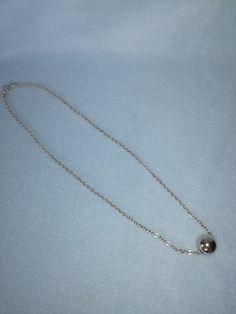 Srebrny wisiorek z kulką - Lady-Kate23 - Naszyjniki
