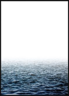 Blue Calm Water Tropical Posters, Waves, Calm, Mountains, Beach, Nature, Blue, Outdoor, Outdoors