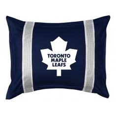 Toronto Maple Leafs NHL Sidelines Pillow Sham/Cover/Case