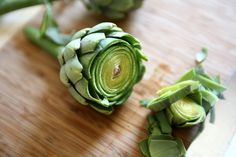 how to trim and prepare delicious baby artichokes