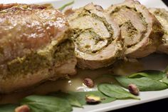 Roulade of pork Russian Recipes, Salmon Burgers, Main Dishes, Steak, Pork, Favorite Recipes, Cheese, Fresh, Chicken