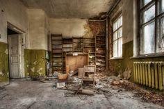 Abandoned School - Chernobyl by Aaron Miller - Postcard Intellect, via Flickr