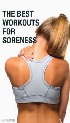 Best Workouts for Soreness   Cute Health