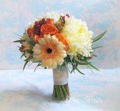 Осенний букет невесты  Свадебный букет Купить | Заказать букет невесты