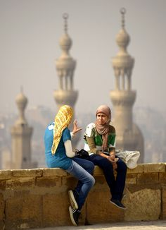 Conversation in Old Cairo - Egypt   Flickr - Photo Sharing!