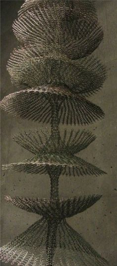 Ruth Asawa , crocheted metal sculpture