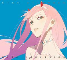 Zero Two (Darling in the FranXX) Image - Zerochan Anime Image Board Art Anime, Anime Manga, Rwby Anime, Character Art, Character Design, Kiss Of Death, Ecchi, Zero Two, Best Waifu