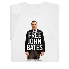 DOWNTON ABBEY FREE JOHN BATES SHIRT - On sale for $12.99 & the shirt ships for free