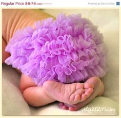 Chiffon Ruffle Bum Baby Bloomers Photo Prop