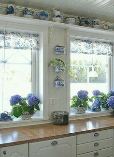 Theme: Blue Hydrangea Cottage~
