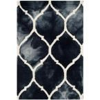 Dip Dye Graphite/Ivory (Grey/Ivory) 2 ft. x 3 ft. Area Rug