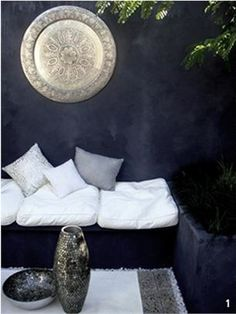 Porter's Limewash Paint in 'Arabian Nights' - Image: Monica Palmer via Bowerhouse.
