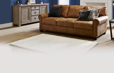 Davenport 3 Seater Leather Sofa, 3 Seater Sofa, Chaise Sofa, Couch, Garage Room, First Home, New Homes, Guernsey, Lounge Ideas