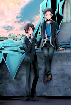 Durarara!! Mikado & Aoba