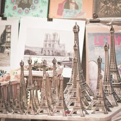 Eiffel Towers.