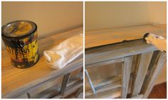 Down to Earth Style: New {old} Foyer Table
