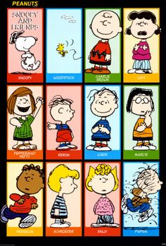 Peanuts gang. LOVE IT!