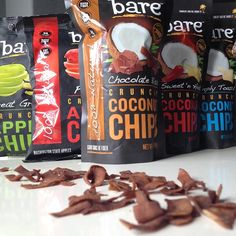 Couldn't choose between flavors so we've decided to eat them all! #locoforcoco #applechips #healthysnacks #baresnackattack #bareappetite #crunchon