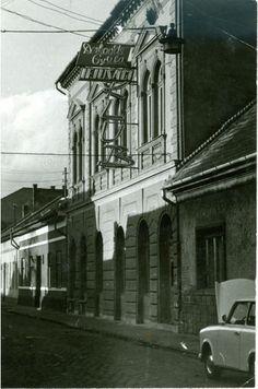 Retro, Budapest, Black And White, Black N White, Black White, Retro Illustration