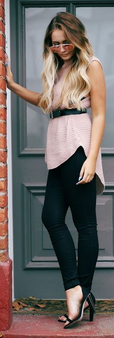 That Pommie Girl Black And Pink Outfit Idea