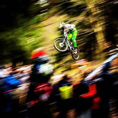 Things I like in #panshotfriday  Bright colors dark backgrounds Crowds Sharp logos  Rainbow stripes Frenchy  I felt bad repeating a shot from last year but sometimes you just gotta do what you gotta do #pencilpan  @loicbruni29   Lourdes France   Qualifying Run   @fstopgear by svenmartinphoto