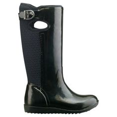I love watching the women in Canada as they're showing off their rubber boots from Bogs and other companies. Rain boots are ..oh so cool.. but if you want one to go with everything this basic black is a good choice... and they've taken care of the smellyness and extra moisture from our feet with technology .. you can look at more styles and get them here .. http://www.onlineshoppingmallcanada.ca/apparel-clothing/shoes/womens-shoes/women-s-rubber-boots-shoes-bogs#.UynTeoWm0-8