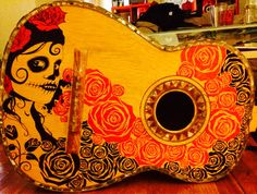 Sharpie Guitar / Mexican Bass by Thanotech on Etsy