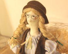 Marion Soft Rag doll Tilda doll Nursery decor doll by DollsByJulia