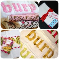 60 Popular diy homemade baby ideas, baby shower gifts, burp cloths, blankets, toys, art, camera lens pal, diaper cake, hair bow, quiet book patterns, infant and baby shoes, clothing, hats and blanket,dress, tutu, diaper bag, hand puppets, baby bibs, new baby kit, laundry hamper - Craft ~ Your ~ Home