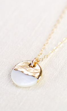 A'ala shell necklace gold necklace gold strand maybe I could gold-dip a shell... hmmm...