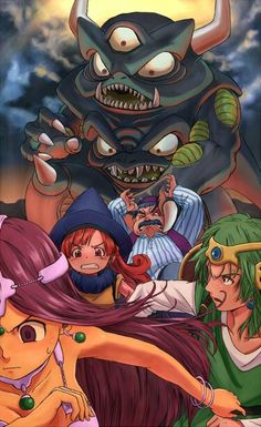 Running from Psaro!! - Dragon Quest IV
