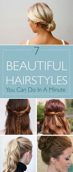 decent time to style your hair. But dont you worry we brought you ...