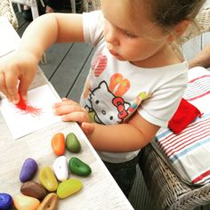 Crayon rocks Plastic Cutting Board, Rocks, Stone, Batu, Stones
