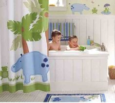 Photo Child's Bathroom Minimalist